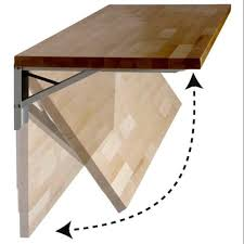 plywood brown wall mounted folding