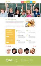 Webbytemplates Play School Psd Website Template Html