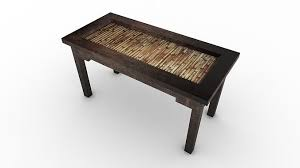ethnic coffee table 3d model cgtrader