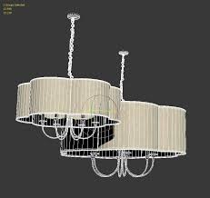 arteriors home rittenhouse large chandelier 3d model max obj fbx mtl 2