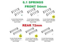 Team Associated B6 Spring Chart Associated 12mm Big Bore Spring Rate Chart R C Tech Forums