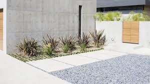 Concrete Path Designs Modern Concrete Paver Walkway Ideas