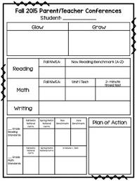 Parent Teacher Conference Form Template Freebie Editable Parent Teacher Conference Pack