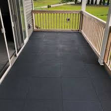 how long do deck tiles last rubber