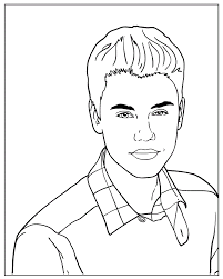 Small Picture Justin Bieber Coloring Pictures Pages Of To Print Drawing