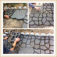 28 diy concrete molds fanciful diy concrete molds diy paving mold stepping stone patio 350 350