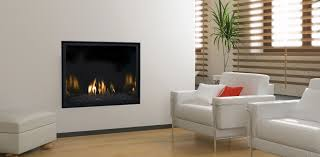 Decorations:Trendy Dark Apartment Living Area Design With Cool Modern Gas  Fireplace On Wall Neat
