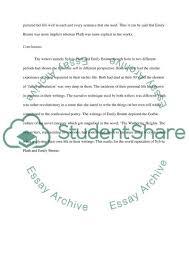 plath essay personal response