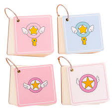Us 1 6 20 Off Cartoon Wing Iron Ring Notebook Student Blank Memo Pad Portable Pocket 100 Sheets Notebook Drawing School Supplies In Memo Pads From