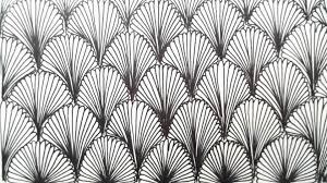 Repeating Patterns New Freehand Spacefilling Patterns 48 A Repeating Leaf Design YouTube