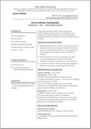 Resume Template Examples Sample Pdf Format Functional With