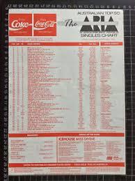 Details About Aria Top 40 Pop Music Chart 9th Sept 1990 Single Album Record Shop Jimmy Barnes