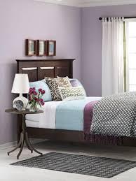 Purple And Beige Bedroom Purple Accent Wall Bedroom Bedroom White Curtain Purple Paint