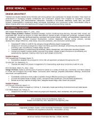 Talented Result Oriented Senior With Architect Resume Template And