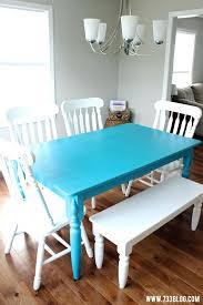 Colorful Dining Room Tables Best Inspiration Ideas