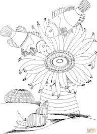 Unico Anemoni Di Mare Disegni Da Colorare Migliori Pagine Da