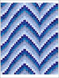 13 best Bargello Quilts images on Pinterest | Bargello quilts ... & Blues Bargello Technique - Quilting This eye-catching bargello pattern uses  eight different shades of Adamdwight.com