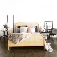 Cane Queen Bed by Cane Collection | Clickon Furniture