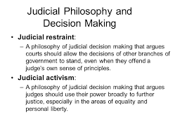 aim what ideologies do federal judges hold party background has  6 judicial philosophy