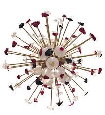 mid century modern italian sputnik chandeliers