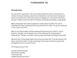 Cover Letter Fundraising 8 Sample Fundraising Letters Cover Letter ...