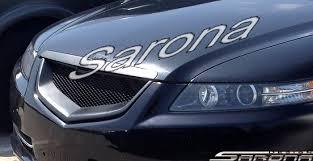 acura tlx 2008 custom. custom acura tl sedan grill 2004 2008 19900 part ac005gr tlx l