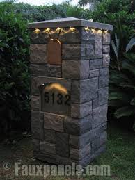 stone mailbox designs. Decorative Residential Mailboxes Increase Create Prominent Detail And Heighten Curb Appeal. Stone Mailbox Designs S
