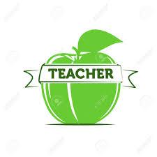 Symbol For Teacher Apple As A Symbol Of A Teacher Teaching Royalty Free Cliparts