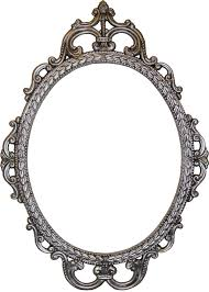 antique oval mirror frame. Oval Antique Mirror Photo - 1 Frame .