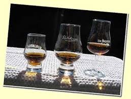 the picture shows from left to right 1 the perfect whisky glass 2 the glencairn and 3 the tulip or thistle with stem these glasses share a common