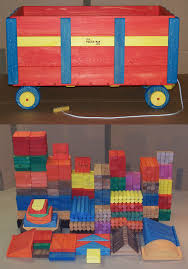 wooden toy large classroom wooden wagon w 560 building blocks w 1520