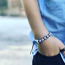 Phone number bracelet, kids number bracelet, <b>braided skull</b> bracelet ...