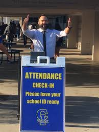 """Wendi McCoy Butler on Twitter: """"Ready with a smile and a scan...Mr. Kozin  at attendance check in! @radams73 @cihs_raiders… """""""
