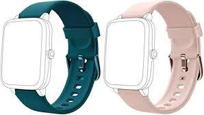 Lintelek Soft Silicone Smart Watch Bands ... - Amazon.com