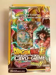dragon ball super card game the crimson saiyan starter deck sd05 bandai ebay