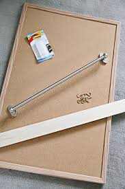 How To Make A Magnetic Memo Board IHeart Organizing DIY Magnetic Memo Board 88
