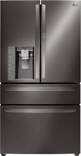 lg lmxs30776d lg french door refrigerator with door in door black stainless