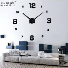 giant wall clock new arrival real big wall clock modern design rushed quartz clocks fashion watches