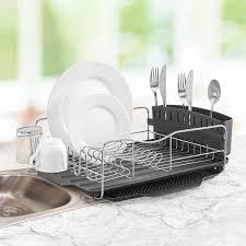 3 advantages of having dish drying rack. Polder 4-Piece Advantage Dish Rack Drying System Kitchen Sink Washing Up Drainer 3 Advantages Of Having