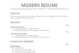 Good Simple Resume Examples A Simple Resume Example Easy Simple