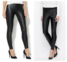 splendid y downtown faux leather panel leggings sz l nwt 128 887883247384
