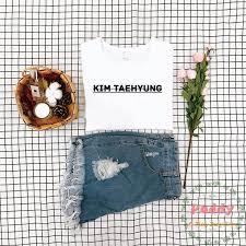 2019 <b>OKOUFEN</b> Ashion KIM TAEHYUNG T Shirt Women Top Mens ...