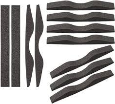 Microfiber Memory Foam <b>Anti</b>-<b>Fog Nose</b> Bridge Pads Self-Adhesive ...