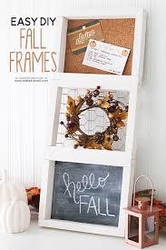 easy diy 3 tiered fall frame via makeit loveit