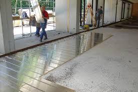 Bodenplatte und kellerdecke richtig dämmen. Okologische Fussbodenheizung Mit Gussasphalt Fur Mensa Joco Moderne Heizungs Und Kuhlsysteme