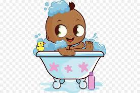 bathing infant bathtub clip art the black baby bathtub