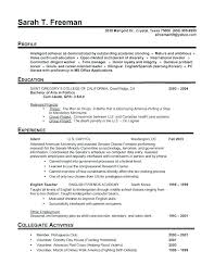 Perfect Resume Sample Perfect Resume Example Perfect Resume Examples