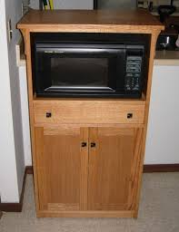 Kitchen Microwave Cabinet Hand Crafted Microwave Cabinet By Joeys Custom Woodworking