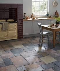furniture faux slate porcelain tile kitchen flooring stone look