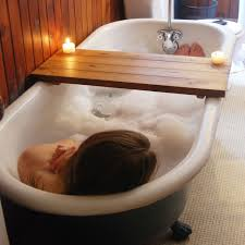 image of bathtub tray design ideas
